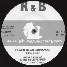 "R & B-7""-Blackhead Chinaman / George Fame And The Blue Flames + Humpty Dumty / George Fame And The Blue Flames"
