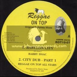 "Reggae On Top-10""-Babylon City / Barry Issac"