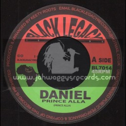 "Black Legacy Records-7""-Daniel / Prince Alla + Lions Dub / Keety Roots"