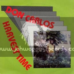 Negus Roots-Lp-Harvest Time / Don Carlos