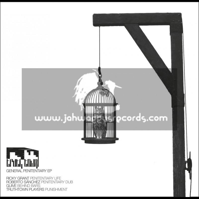 """Truth Town Records-10""""-General Penitentiary Ep - Limited 500 Numbered Press"""
