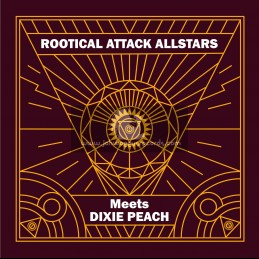 Rootical Attack Records-12 Ep-Rootical Attack Allstars Meets Dixie Peach
