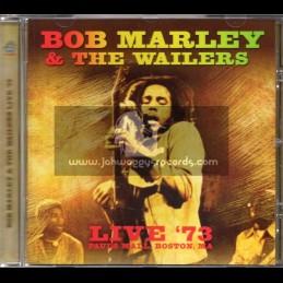 Klondike Records-Cd-Bob Marley And The Walers-Live 73-Pauls Mall Boston