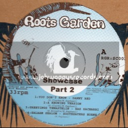 "Roots Garden Records-12""-Showcase Part 2 Feat. Freddie McGreggor, Danny Red, Ras Zacharri And Earl Sixteen"
