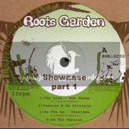 Roots Garden Records-12 -Showcase Part 1 Feat. Johnny Osbourne, Chezidek, Bob Skeng And Dark Angel
