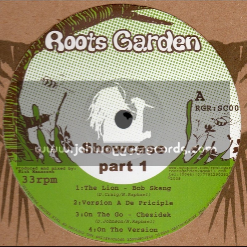 Roots Garden Records-12 -Showcase Part 1 Feat. Johnny Osbourne, Chezidek, Bob Skeng And Dark Angel