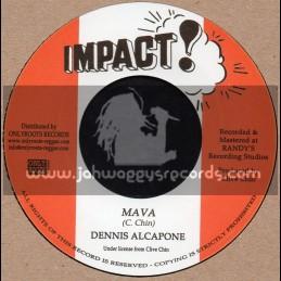 """Impact-7""""-Mava / Dennis Alcapone + Mava Passion / Impact All Stars"""