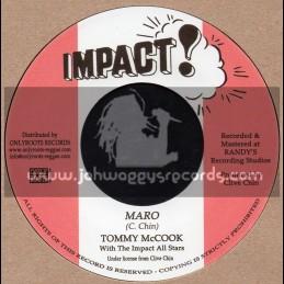 "Impact-7""-Maro / Tommy McCook + Jaro / Impact All Stars"