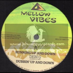 """Mellow Vibes-12""""-Running Up And Down / Debi G + Trod Along / Sister Sherin"""