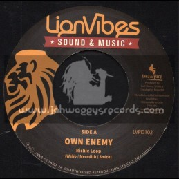 "Lion Vibes-7""-Own Enemy / Richie Loop"