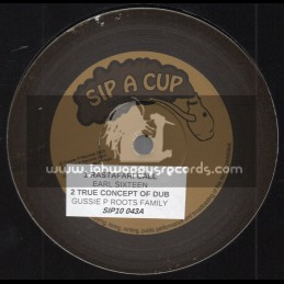 "Sip A Cup Records-10""-Rastafari Call / Earl Sixteen + Not Seeing In Dub / Gussie P And Leroy Mafia"