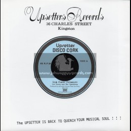 """Upsetter Disco Cork-7""""-Dubplate Pressure / Lee Pery And The Upsetters"""