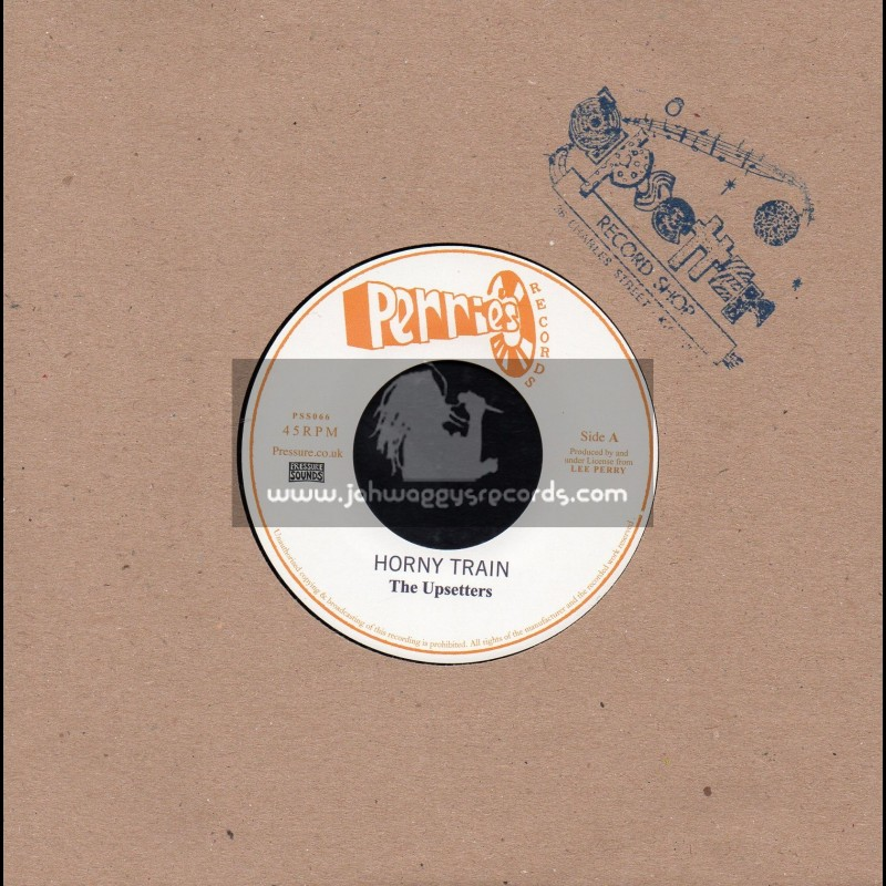 """Perrys Records-7""""-Horny Train / The Upsetters"""