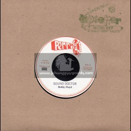 """Perrys Records-7""""-Sound Doctor / Bobby Floyd + Wam Pam Pa Do / Young Dillinger"""