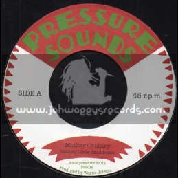 "Pressure Sounds-7""-Mother Country / Native-Little Madness + Mother Version / Native-Little Madness"