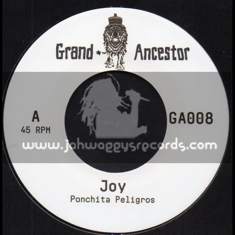"""Grand Ancestor-008-7""""-Joy / Ponchita Peligros + Joy Dub / Helgeland 8 Bit Squad"""