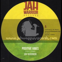 "Jah Warrior Records-7""-Positive Vibes / Jah Warrior"