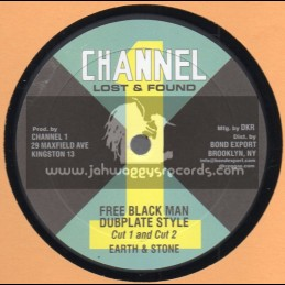 "Channel 1-10""-Free Black Man Dubplate Style / Earth And Stone + Social Development / I Roy"