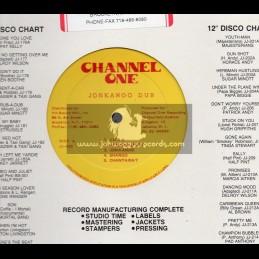 Channel One-Lp-Jonkanoo Dub / The Revolutionaries