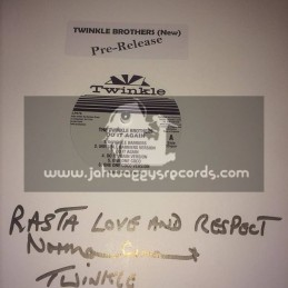 Twinkle-Lp-Pre Release-Do It Again / Twinkle Brothers - Signed By Norman Grant