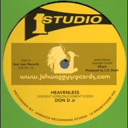 """Studio 1-12""""-Heavenless / Don D Jr + After Christmas / Jackie Mittoo, Earl Walker And Pablove Black"""