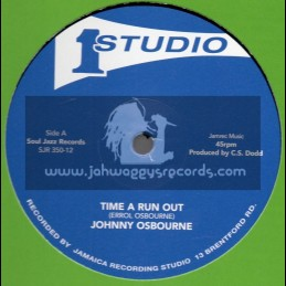 """Studio 1-12""""-Time Ran Out / Johnny Osbourne + Got To Fight On / Heptones And The Sound Dimension"""
