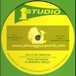 "Studio 1-12""-Jah A De Creator / Papa Michigan And General Smiley + Rebel Disco / Brentford Disco Set"