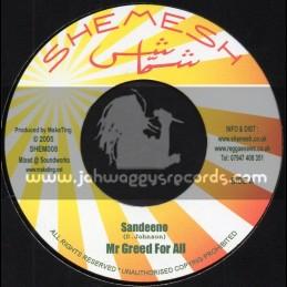 "Shemesh-7""-Mr Greed For All / Sandeeno - 2005"