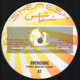 """Shemesh-10""""-Overcome / Andrew Jones - 2003"""