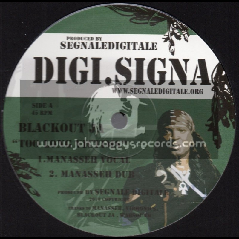 "Digi. Signa-12""-Too Long Victims / Blackout JA"