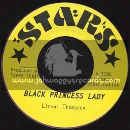 "Stars-7""-Black Princess Lady / Linval Thompson + Princess Dub / Tappa Zukie"