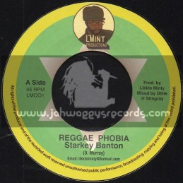 "L'Mint Productions-7""-Reggae Phobia / Starkey Banton + Phobia Of Dub / Pharmacist"