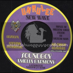 "Unrulee Records-7""-New Wave-Soundboy / Amelia Harmony"