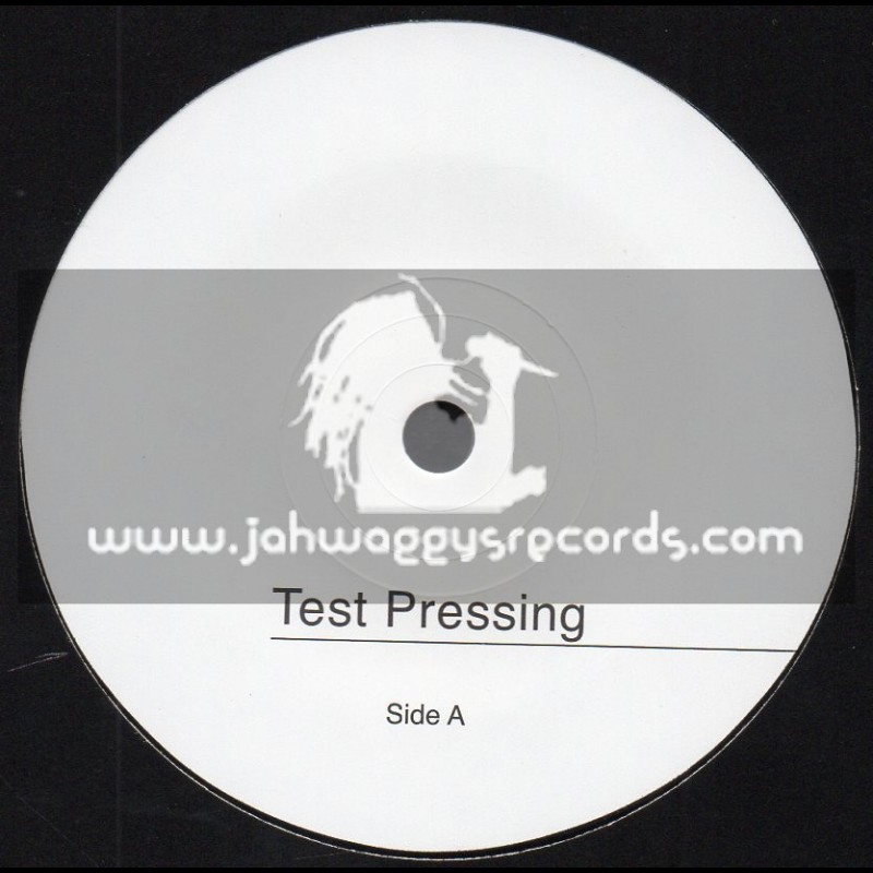 """Roots Temple-Test Press-7""""-From The East / Yuuri Bamboo Feat. Barry Isaac + Dub From The East / Chazbo Meets Hughie Izachaar"""