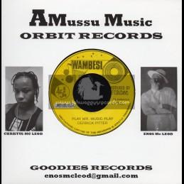 """Wambesi-Amussu Music-7""""-Play Mr Music Play / Derrick Pitter"""