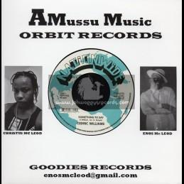 "Nationwide - Amussu-7""-Something To Say / Cedric Williams"