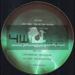 """4Weed Records-12""""-Son Of The Father / Jah Free + Revolution / Lion Warriah"""