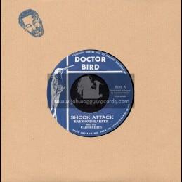 """Doctor Bird-7""""-Shock Attack / Raymond Harper + Perfidia / Raymond Harper"""