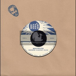"Dee s-7""-Discipline / Raymond Harpers Band + Breeze Of The West / Raymond Harper"