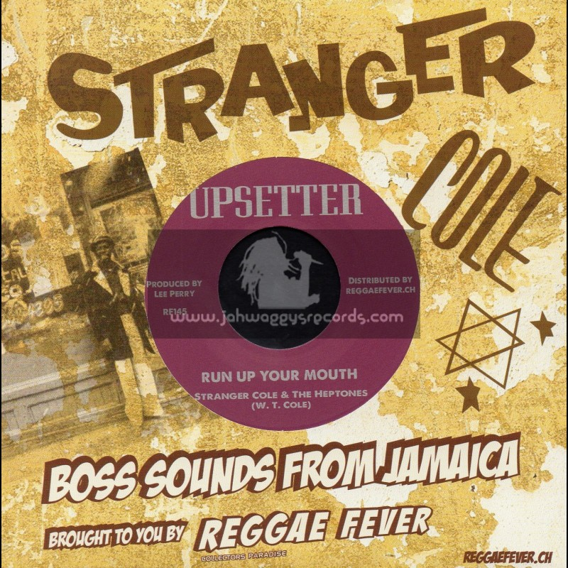 """Upsetter-7""""-Run Up Your Mouth / Stranger Cole And The Heptones"""