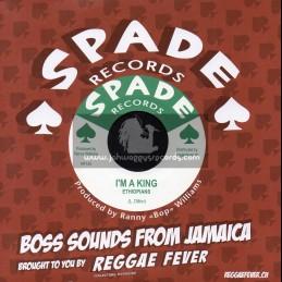 "Spade Records-7""-I m A King / Ethiopians + Big Boy / Ranny Williams And The Hippy Boys"