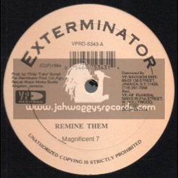 "Exterminator-12""-Remine Them / Magnificent 7 + Mine Over Matter / Risto Benji"