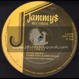 "Jammy Records-12""-Curfew / Dennis Brown, Frankie Paul & Josey Wales"