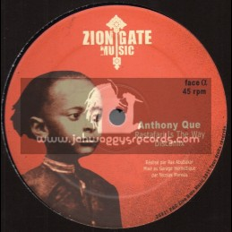 "Zion Gate Music-12""-Rastafari Is The Way / Anthony Que + Jah Have The Key / Ras Mac Bean"