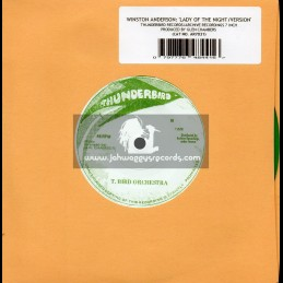 """Thunderbird Records-Archive Records-7""""-Lady Of The Night / Winston Anderson"""