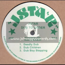 Jstar-Lp-Dub To Order / Jstar - Mixed By Manasseh