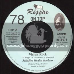 """Reggae On Top-7""""-78-Vision Rock / Hughie Izachaar"""