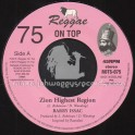 "Reggae On Top-7""-75-Zion Highest Region / Barry Issac"