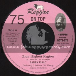 "Reggae On Top-7""-75-Zion Highest Region / Barry Issac"