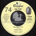 "Reggae On Top-7""-74-Rastafari Live / Barry Issac"